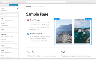 Create custom elements for Tailor Page Builder